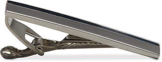 Ryan Seacrest Distinction Men's Blue & Silver-Tone Tie Bar, Created for Macy's