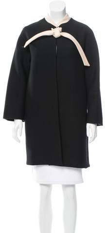 ValentinoValentino Structured Wool Cape w/ Tags