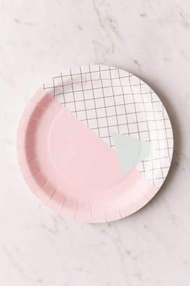 BA&SH BASH Memphis Grid Paper Plate Set
