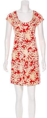 Diane von Furstenberg Silk Printed Tunic