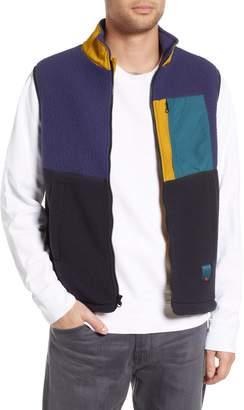 Herschel Colorblock Fleece Vest