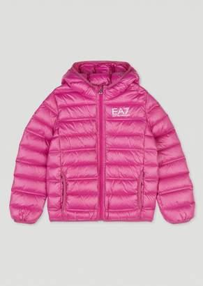 Emporio Armani Ea7 KidS Genuine Down Puffer Jacket