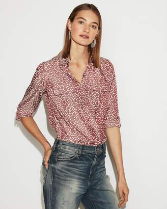 Express Petite Spots City Shirt