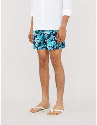 Vilebrequin Moorea floral turtle-print swim shorts