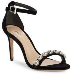 Schutz Natalie Embellished High-Heel Sandals