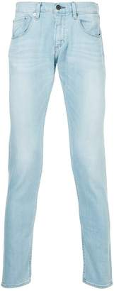 Monkey Time Bleached Effect Slim Jeans