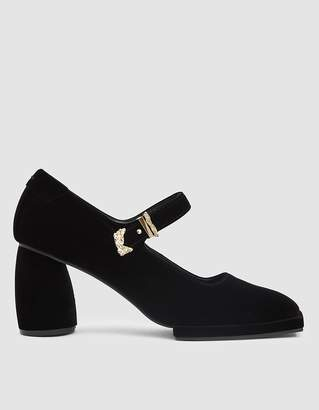 Reike Nen Square Toe Mary Jane Pump in Black