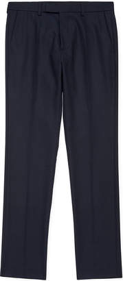 Whistles Slim-Fit Twill Trousers