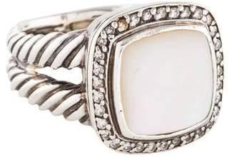 David Yurman Mother of Pearl & Diamond Albion Ring