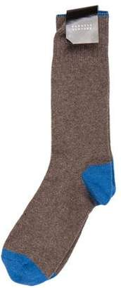Barneys New York Barney's New York Cashmere Knit Socks w/ Tags