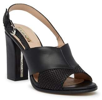 Tahari Kingston Snake Embossed Sandal