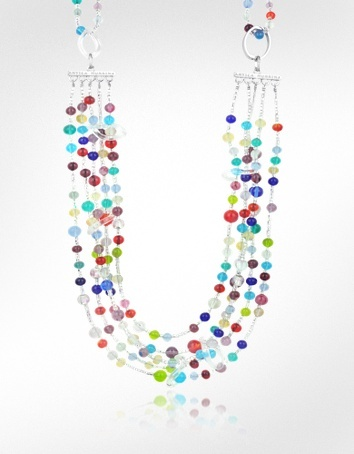 Antica Murrina Prestige - Murano Glass Multi-Strand Versatile Necklace