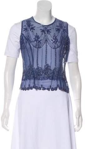Calypso Silk Sleeveless Top w/ Tags