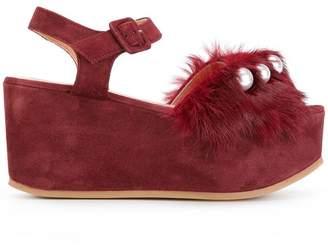 L'Autre Chose wedge sandals