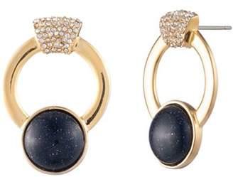 Trina Turk Oversized Hoop Stud Earrings