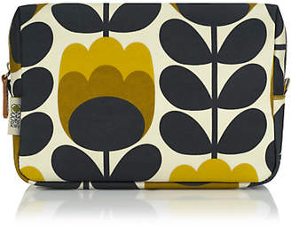 Orla Kiely Dandelion Tulip Large Cosmetic Bag, Yellow