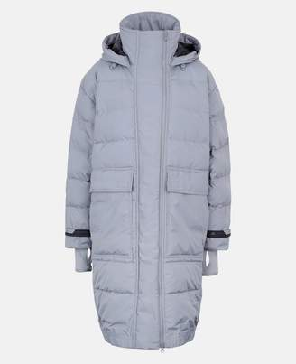 Stella McCartney Gray Long Padded Jacket, Women's