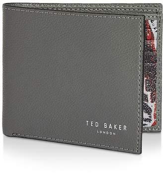 Ted Baker Fluu Leather Printed Bifold Wallet