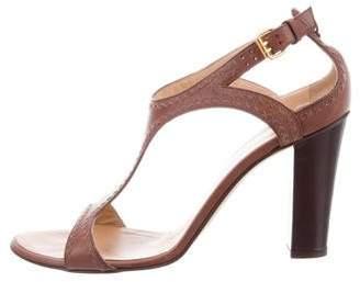Giuseppe Zanotti High-Heel T-Strap Sandals