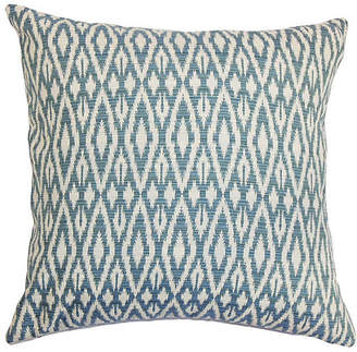 One Kings Lane Hafoca Pillow - Denim