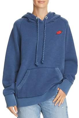 Rag & Bone Racer Lips Hooded Sweatshirt