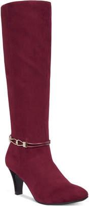 Karen Scott Hollee Wide-Calf Dress Boots