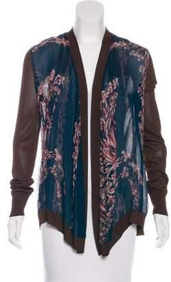 Hermes Cheval Fleuri Knit Cardigan
