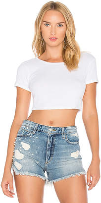 MAJORELLE Angel Tee in White $70 thestylecure.com