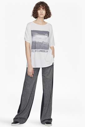 French Connenction Antonia Wide Leg Tweed Trousers