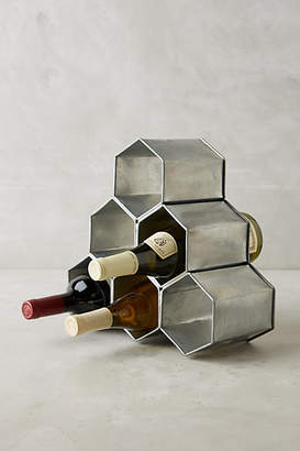 Anthropologie Honeycomb Wine Holder