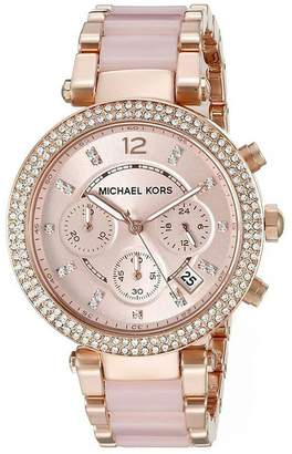 Parker Generic Michael Kor Women's Rose Gold Two-Tone Watch MK5896