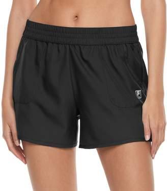 Fila Sport Women's SPORT Extended Woven Workout Shorts