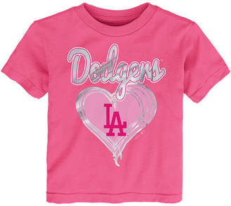 Outerstuff Los Angeles Dodgers Unfoiled Love T-Shirt, Toddler Girls (2T-4T)