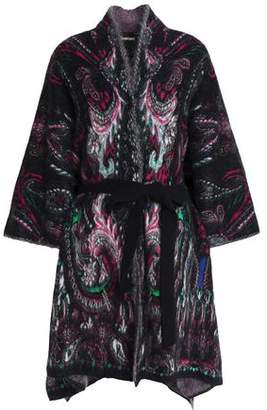 Roberto Cavalli Tie-Front Knitted Cardigan