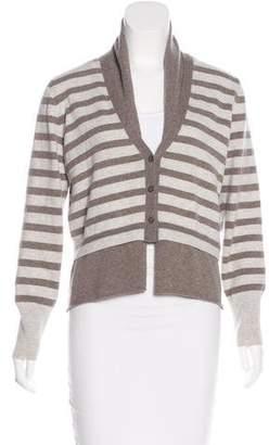 Fabiana Filippi Striped Wool Cardigan