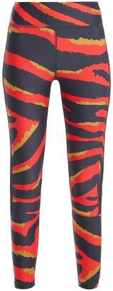 The Upside Tiger-print performance leggings