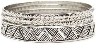 Forever 21 Etched Bangle Set
