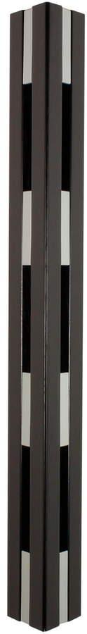 LoCa - Knax Kleiderhaken, Eiche schwarzgebeizt / grau
