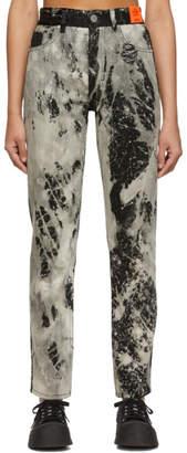S.R. STUDIO. LA. CA. Black SOTO Hand-Bleached C Jeans