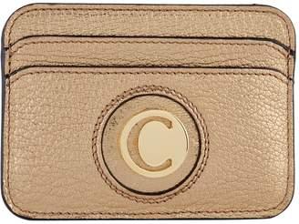 Chloé Leather Slide Card Holder