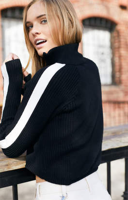 John Galt Hilary Half Zip Sweater