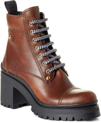 Miu Miu Nevermind Platform Hiking Boot