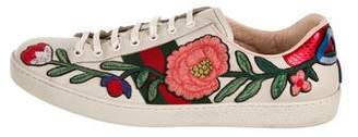 Gucci Ace Floral Sneakers