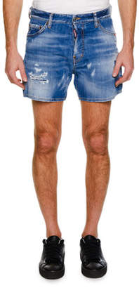 DSQUARED2 Men's Distressed Denim Shorts