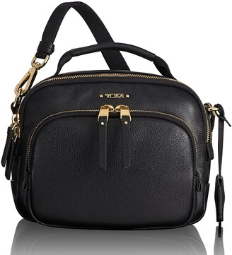 Tumi Voyageur Troy Leather Crossbody Bag