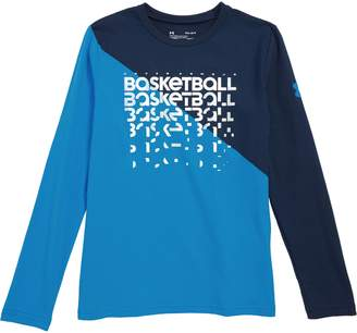 Under Armour Basketball Repeat Long Sleeve HeatGear(R) T-Shirt