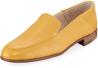 Gravati Flat Leather Smoking Loafers