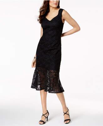 Thalia Sodi Lace Fit & Flare Dress, Created for Macy's