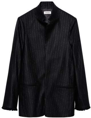 Zadig & Voltaire Zadig&Voltaire Volly Stripes Franges Jacket