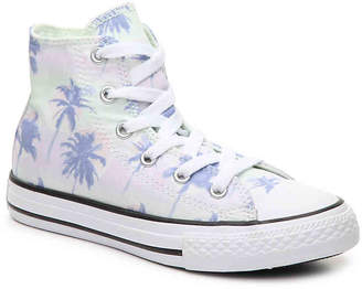 Converse Chuck Taylor All Star Palm Toddler & Youth High-Top Sneaker - Girl's
